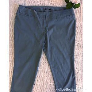 🆕 Gray Capris from Torrid Size 24